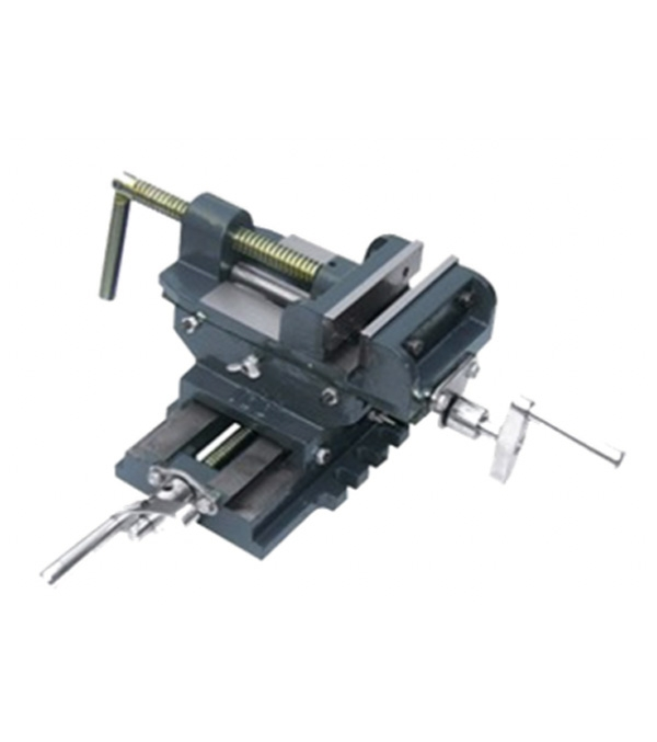 2 Way Cross Vice Clamp Holder Drilling Milling Machine